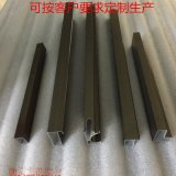 铝合金橱柜门铝材晶钢门铝型材现货供应