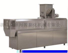 多功能合金钢真空蘸火双螺杆干法膨化机
