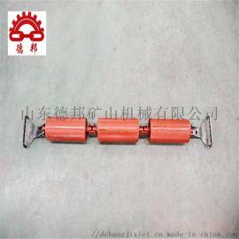 输送机槽型可调心托辊弹簧缓冲托辊厂家直销