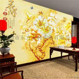 玻璃瓷片电视背景墙喷绘机艺术背景墙uv打印机