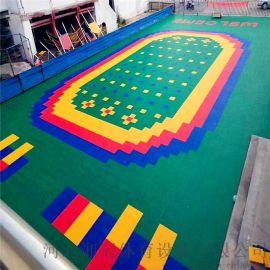 武威市彈性墊懸浮地板 甘肅拼裝地板廠家