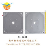 隔膜滤板 压滤机隔膜滤板 800聚丙烯隔膜滤板