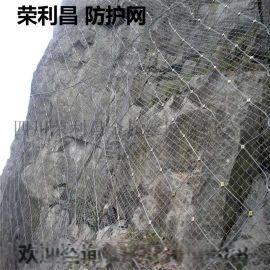 主动防护网,柔性边坡防护网,被动防护网厂家荣利昌