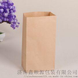 牛皮打包袋食品包装袋环保复古纸袋