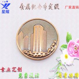 胸牌纪念币金属珐琅马口铁像章吊牌锌合金logo标牌