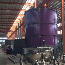 微生物菌肥生产设备 大型菌种有机肥生产线 使用菌渣处理设备