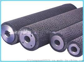 线路板打磨耐酸碱研磨刷辊 耐酸碱打磨磨料辊刷