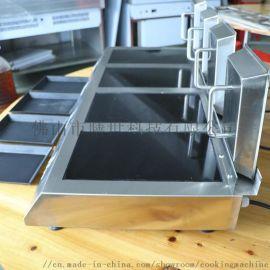 顺德膳达智能自动煎饺子机桌上型4头煎饼机圣托