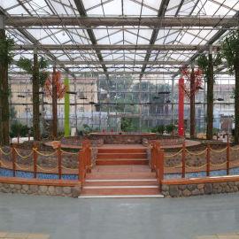 观光农业 生态园 温室大棚 鱼菜共生系统
