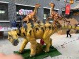 模擬恐龍重回恐龍時代 栩栩如生的恐龍模型