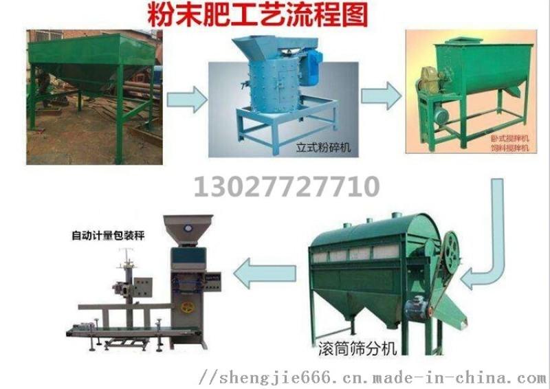 腐殖酸鸡粪加工有机肥设备—厂家报价—岚皋