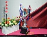 銀色獎盃定製 年會獎盃 員工獎盃 紀念獎盃 合作獎盃