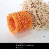 KC340 窄版橘色菜瓜布缎带 30mm【缎带王】包装织带