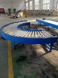 180度360度环形滚筒流水线不锈钢辊筒输送机