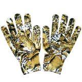 13针印花针织手套 园艺手套
