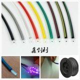 直徑1.0*2.2mm光纖全彩色塑料光纖彩條光纜電力面板型故障指示