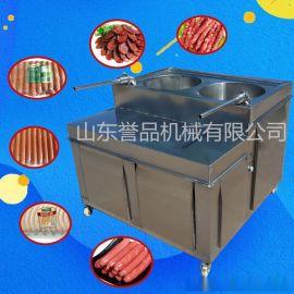 全自动绞肉式灌肠机 灌香肠火腿肠机器 大型食品厂专用液压灌肠机