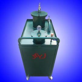 機牀廢渣清理設備  衝壓液槽廢渣油處理