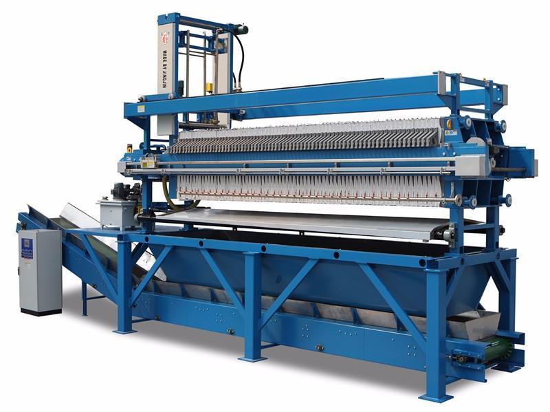 景津环保1000型皮带一体压滤机,景津板框压滤机
