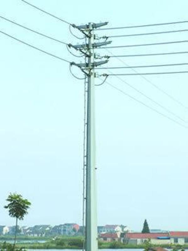 大同矿区35KV电力杆、钢桩基础及电力杆打桩施工