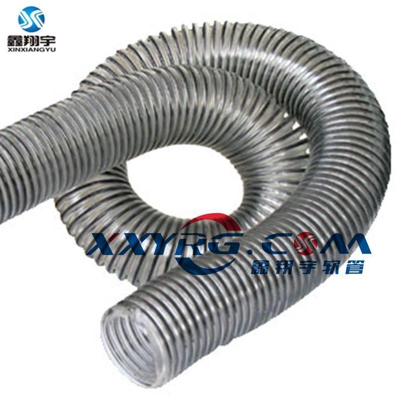 PVC彈簧鋼絲伸縮管,蛐蚊彈簧吸塵管,吸塵器伸縮管,除塵管道