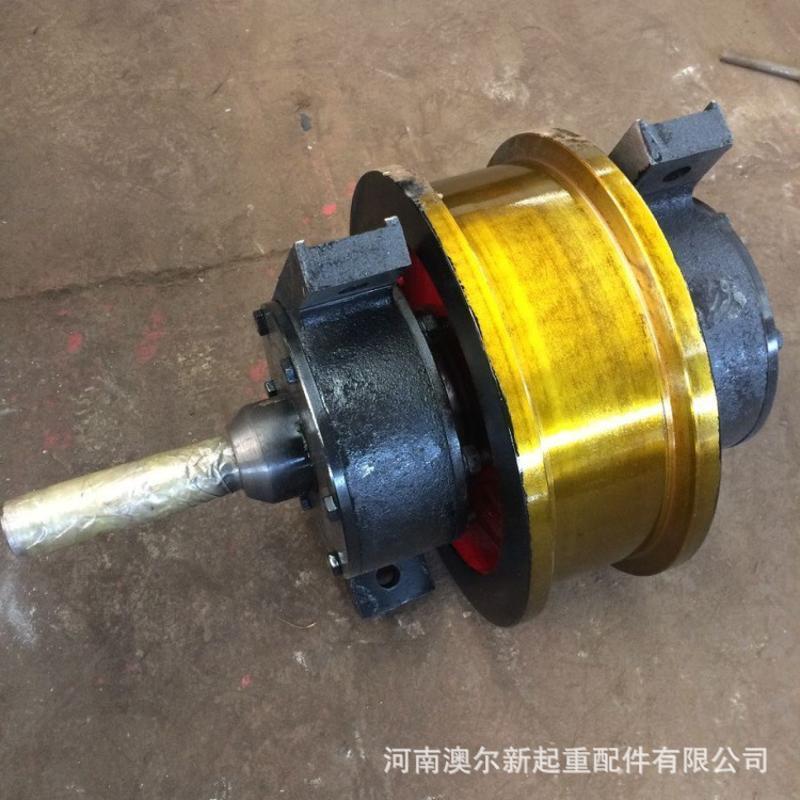 起重机车轮组 车轮组图纸 φ350单边车轮组