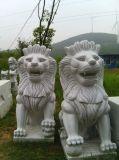 花崗岩石雕獅子