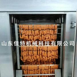糖熏鸡是如何上色的,南阳糖熏鸡全自动烟熏炉