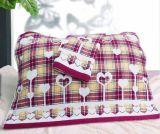高陽毛巾廠家批發高品質品牌純棉提花雙層布藝婚慶/禮品枕巾
