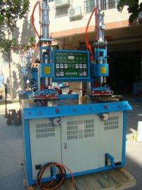 PVC皮革高频油压热合压花机