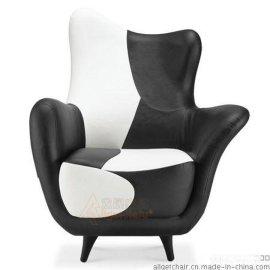 酒店会所休闲沙发椅尺寸 个性时尚沙发椅定制