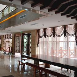 酒店大堂窗帘 中式通透性网纱