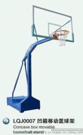 厂家直销东莞河源梅州深圳凹箱移动篮球架LQJ0007  体育器材