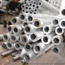 供应广东地区 **铝合金棒 6063-T6氧化银色铝方官