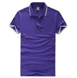 广州个性定制t恤现货t恤广告衫制作文化衫翻领t恤翻领空白广告衫