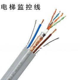 哈尔滨批发监控视频线,SYV75-5 128网 国标纯铜监控线