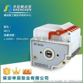供应广州氨氮分析仪器配套多通道蠕动泵泵头MC5