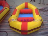 水上趣味玩具大型充气水池水上碰碰车
