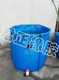 折叠鱼池锦鲤暂养池鱼虾龟比赛水池移动养鱼箱鱼苗繁殖海鲜