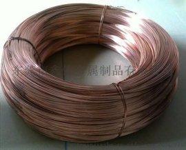 河南濮阳T2紫铜圆线厂家,江苏常州1.2MM紫铜丝价格