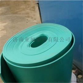 PVC绿软板塑料防腐抗压耐磨绿胶板绿板缘橡胶板pvc软板pvc胶板