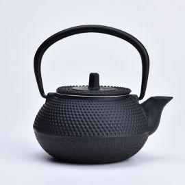 雲上堂厂家茶具批发日本铸铁低价**铁壶颗粒300 可定制茶壶茶杯