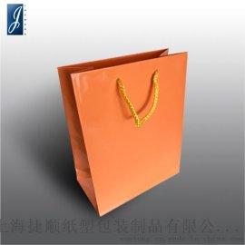 JSPACKING通用橘色小号纸袋