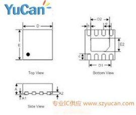 1A电流 单节锂电充电IC YB5141A DFN封装