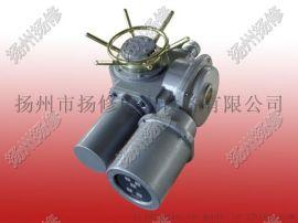 扬州电动执行器厂家/电动执行器/DZW120系列电动执行机构