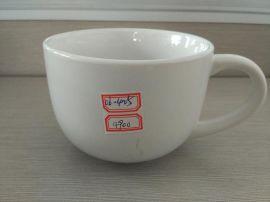 厂家处理库存白釉杯 陶瓷杯 色釉杯4毛到8毛