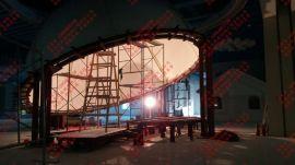 供应玻璃钢投影幕 圆弧形 硬屏幕  半球吊顶  灯罩 圆球吊顶