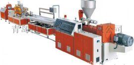 青岛佳良塑料机械设备生产-木塑型材挤出生产线