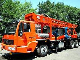 车载式正反循环钻机(BZC-350A)
