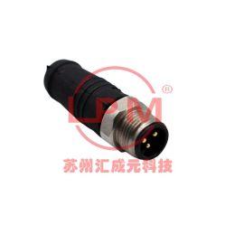 苏州汇成元供应 Amphenol(安费诺) M8AS-04BMMM-SL7000 替代品防水线束